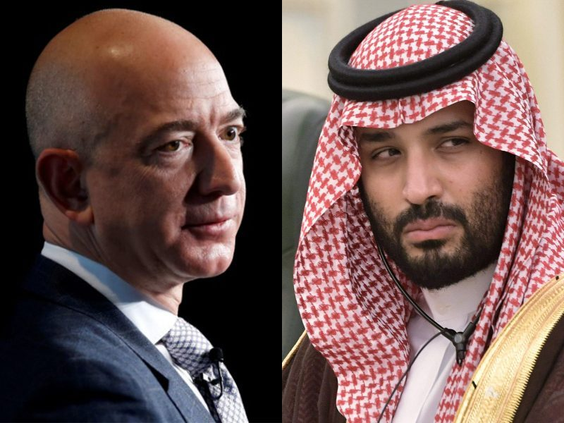 Was Jeff Bezos hacked by the Saudi Prince?