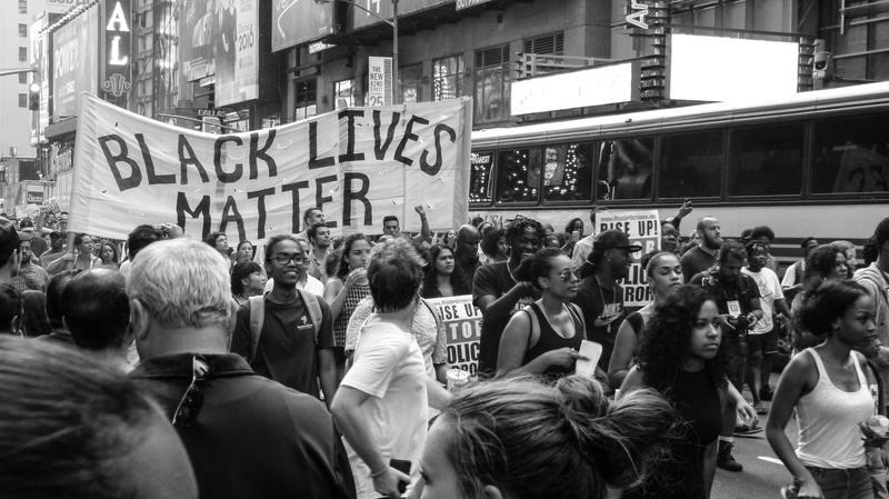 BlackLivesMatter protests George Floyd