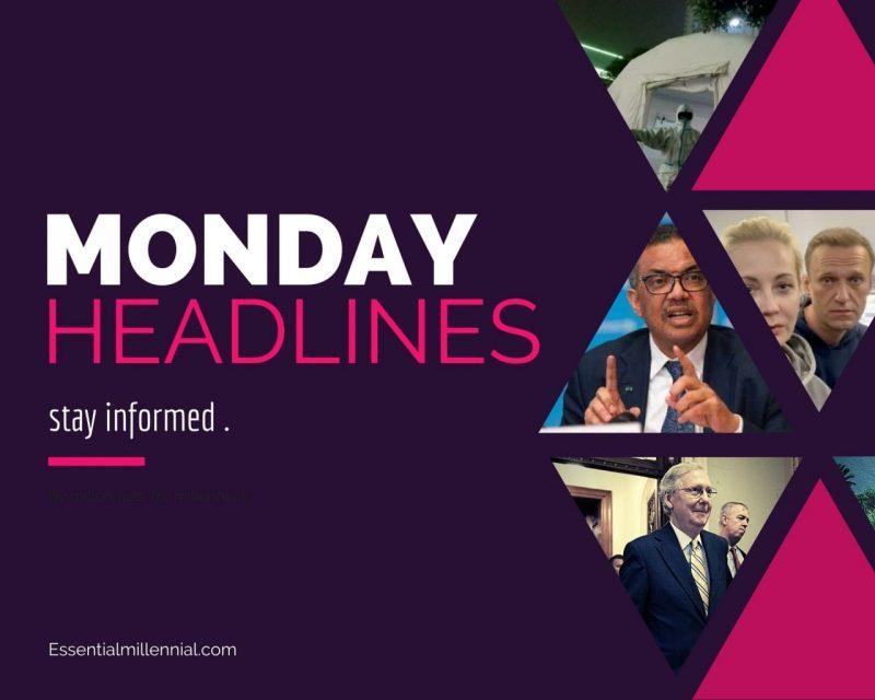 Monday headlines