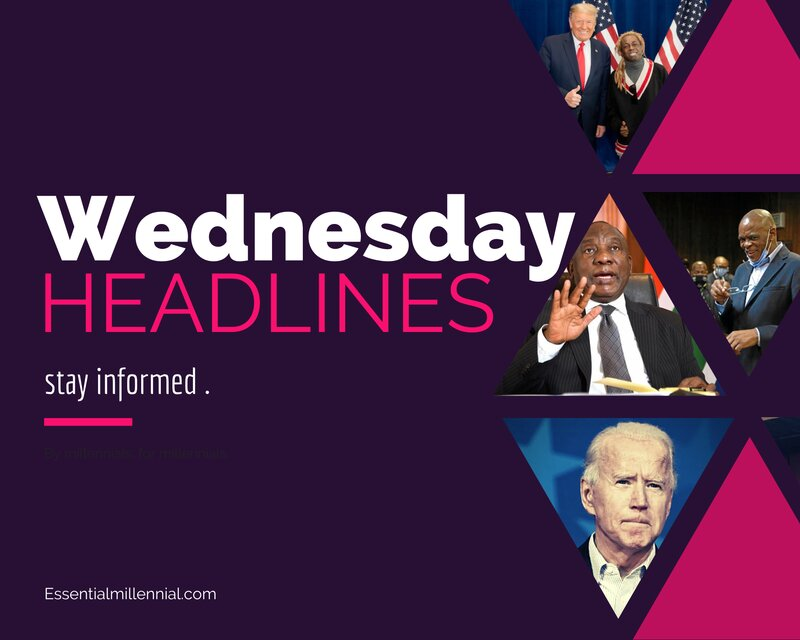 Wednesday news