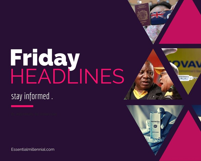 Friday news headlines