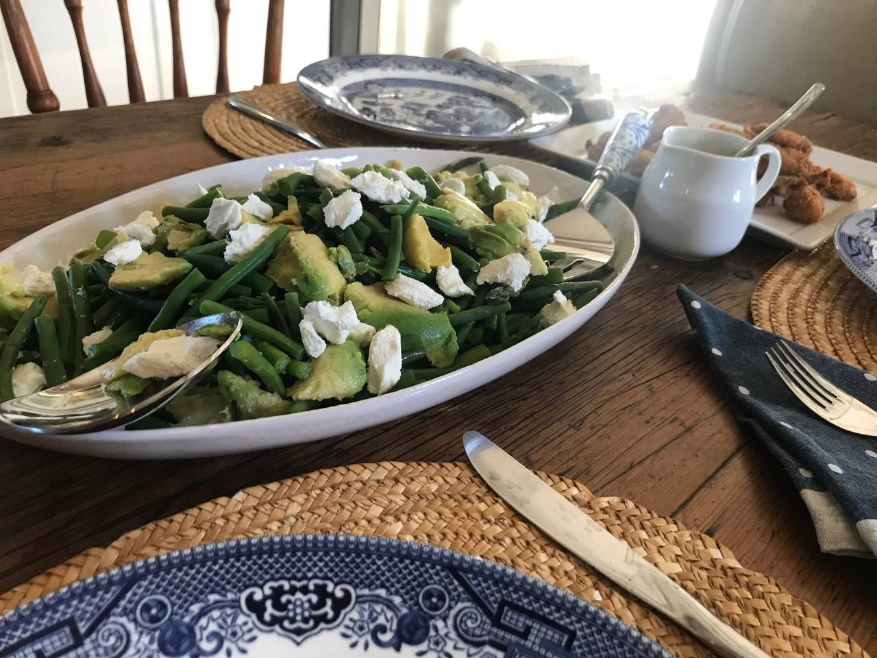 Spring Salad With Cheese